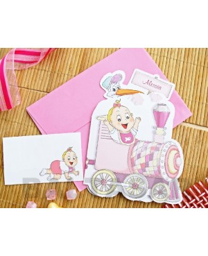 INVITACIÓN BAUTIZO-BABY SHOWER