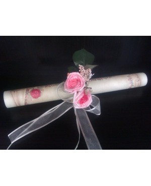 Argolla flor lila