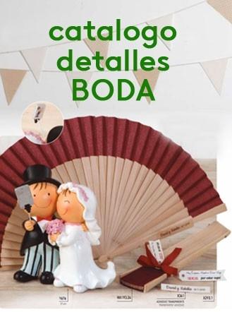 catalogo detalles boda 2018