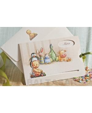 INVITACIÓN BAUTIZO-BABY SHOWER
