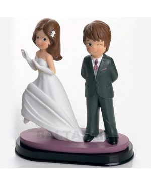 Figura Novios tarta novia a la fuga