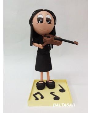 PROFESORA MUSICA FIGURA PERSONALIZADA