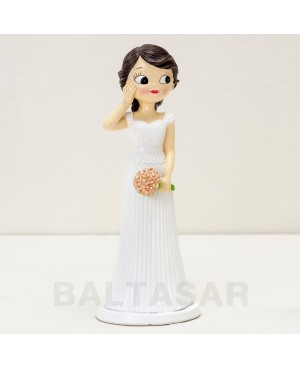 Figura novia sorpendida