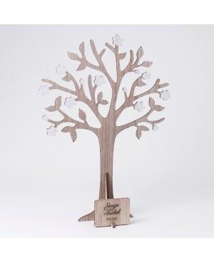 Árbol de los deseos y joyero con placa 29x40cm.