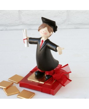 Figura graduación chico 8 napolitanas