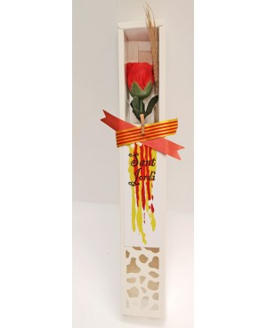 Rosa Roja de Jabón