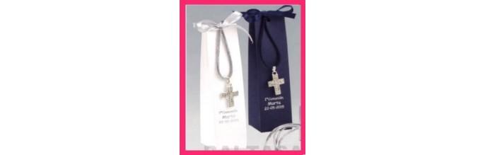 Colgantes, pulseras, rosarios y broches Comunión
